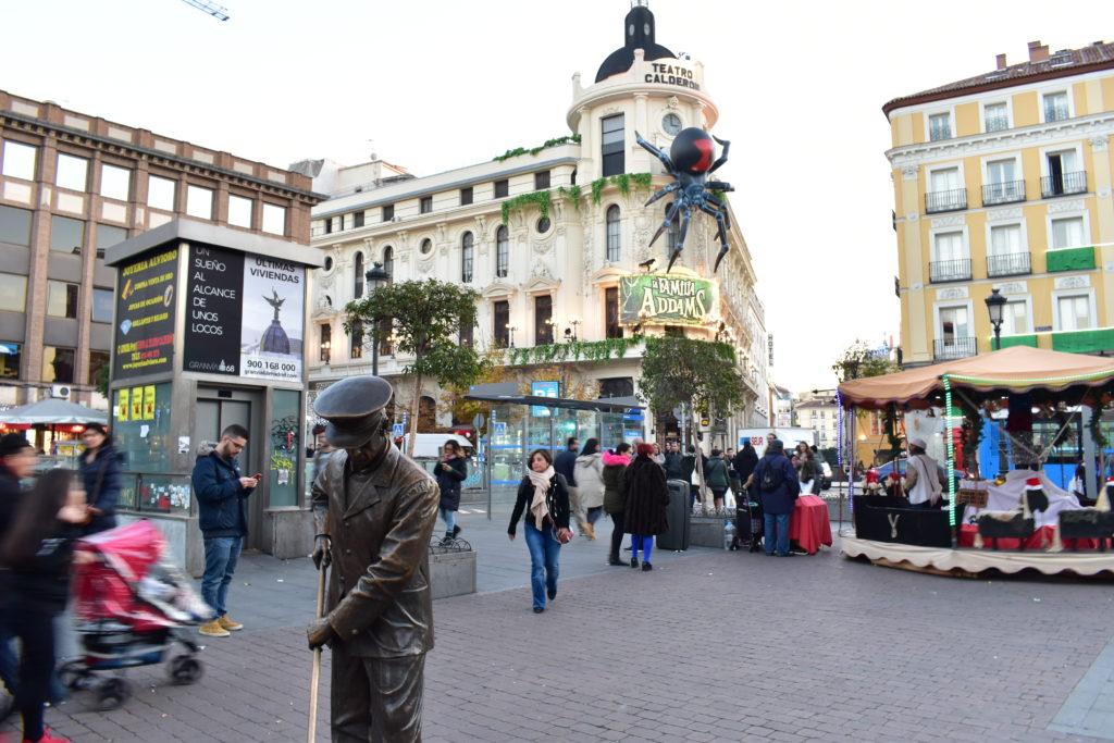 【画像】マドリードの街並み
