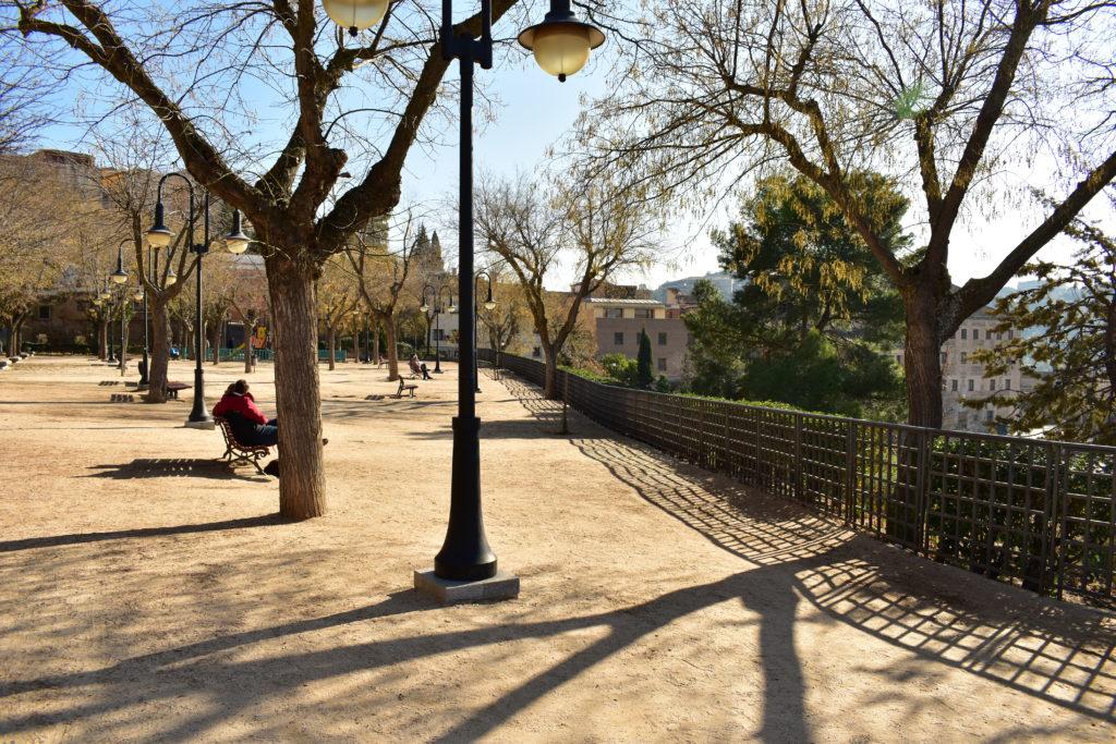 【画像】エル・グレコ美術館前の公園②