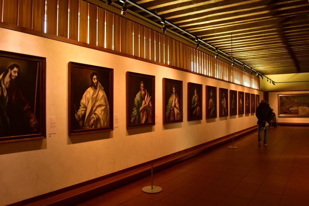 【画像】エル・グレコ美術館内部(12使徒の絵画)