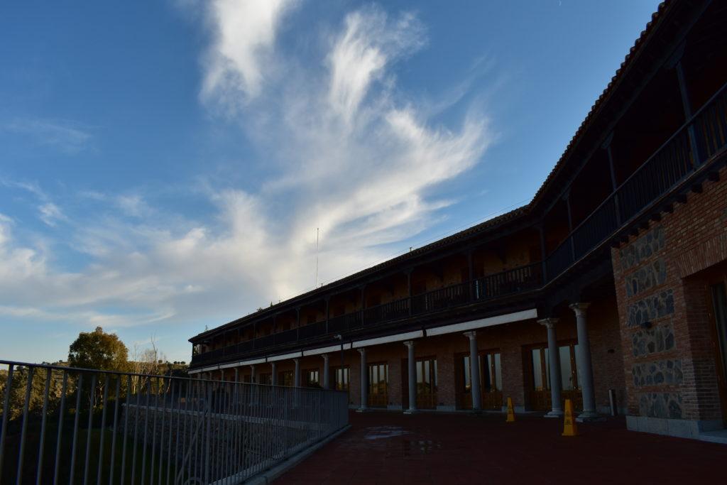 【画像】パラドール・デ・トレド テラスからの外観