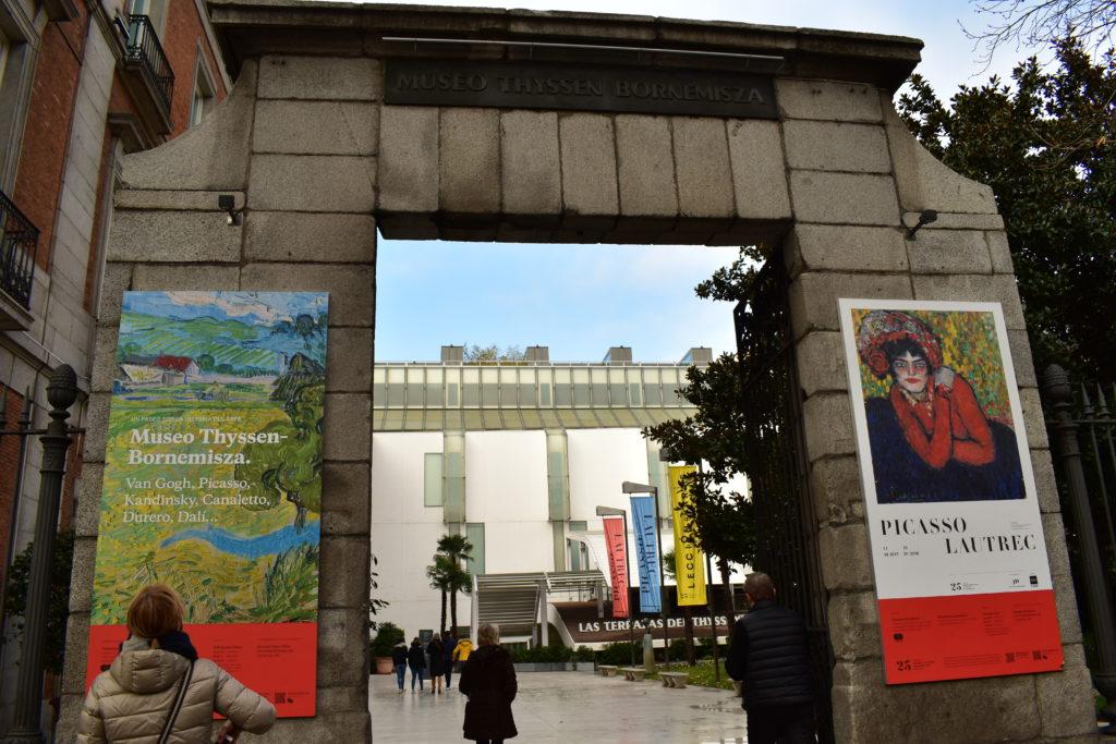 【画像】マドリード ティッセン=ボルネミッサ美術館 外観