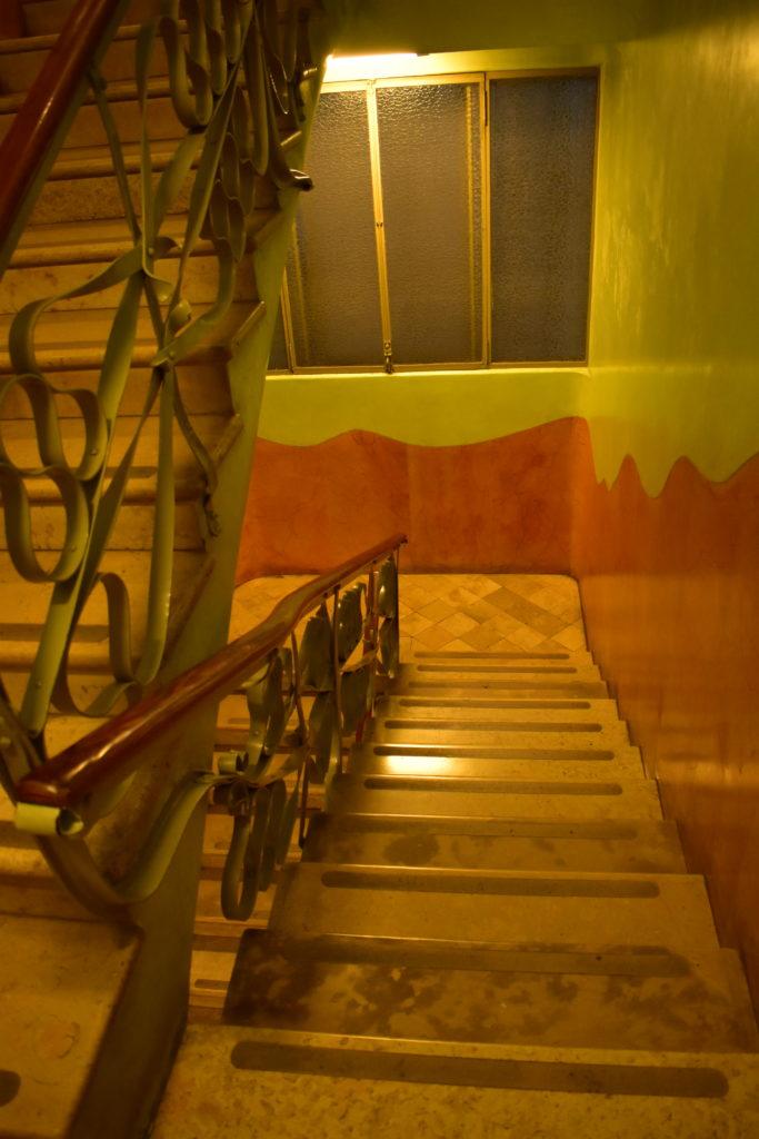 【画像】カサ・ミラ 内部階段