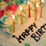【イメージ画像】誕生日ケーキ