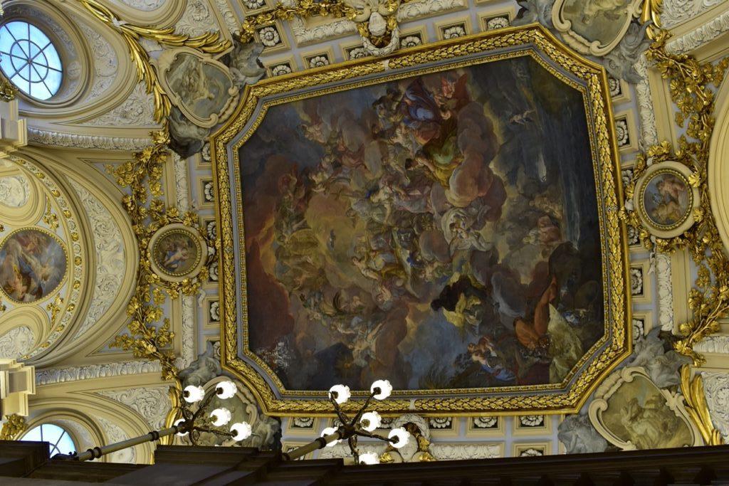 【画像】マドリード 王宮 大階段の天井画