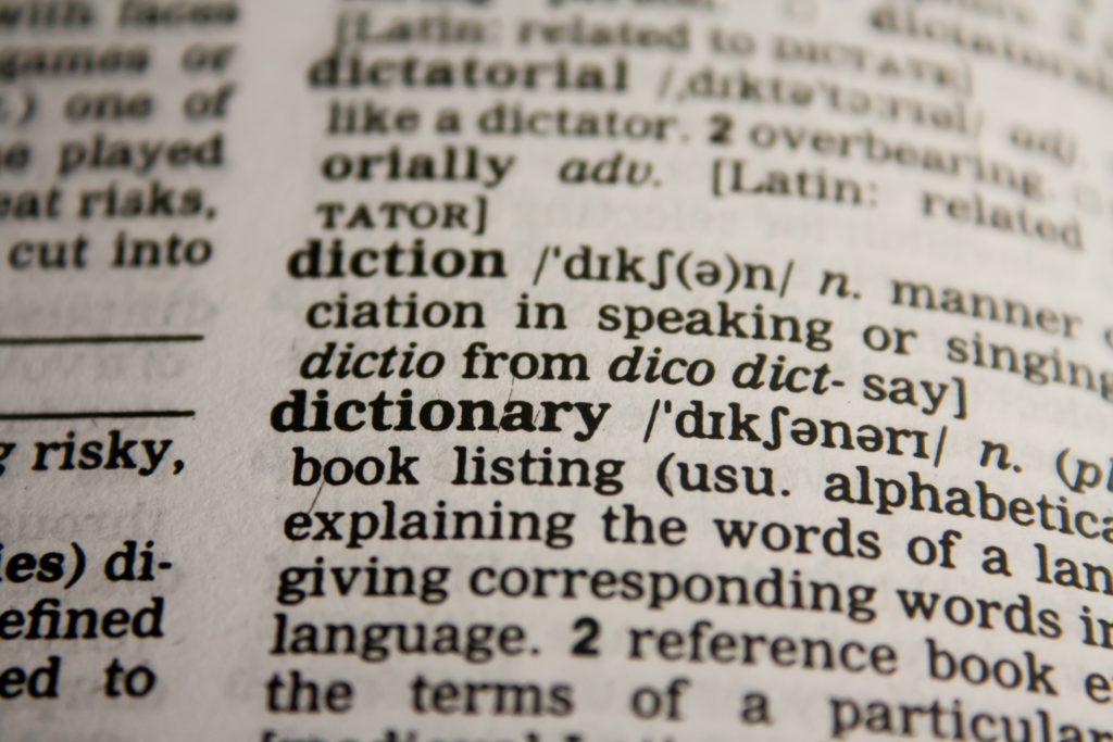 【イメージ画像】英語辞書