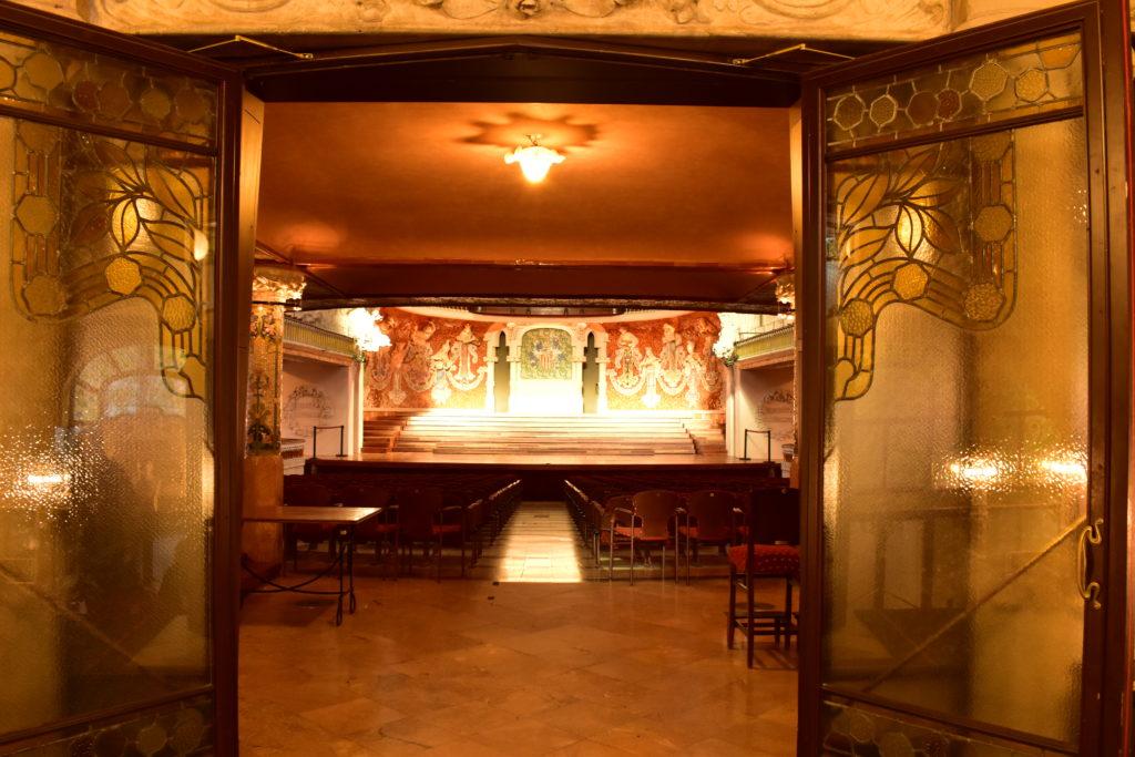 【画像】カタルーニャ音楽堂 大ホール入り口
