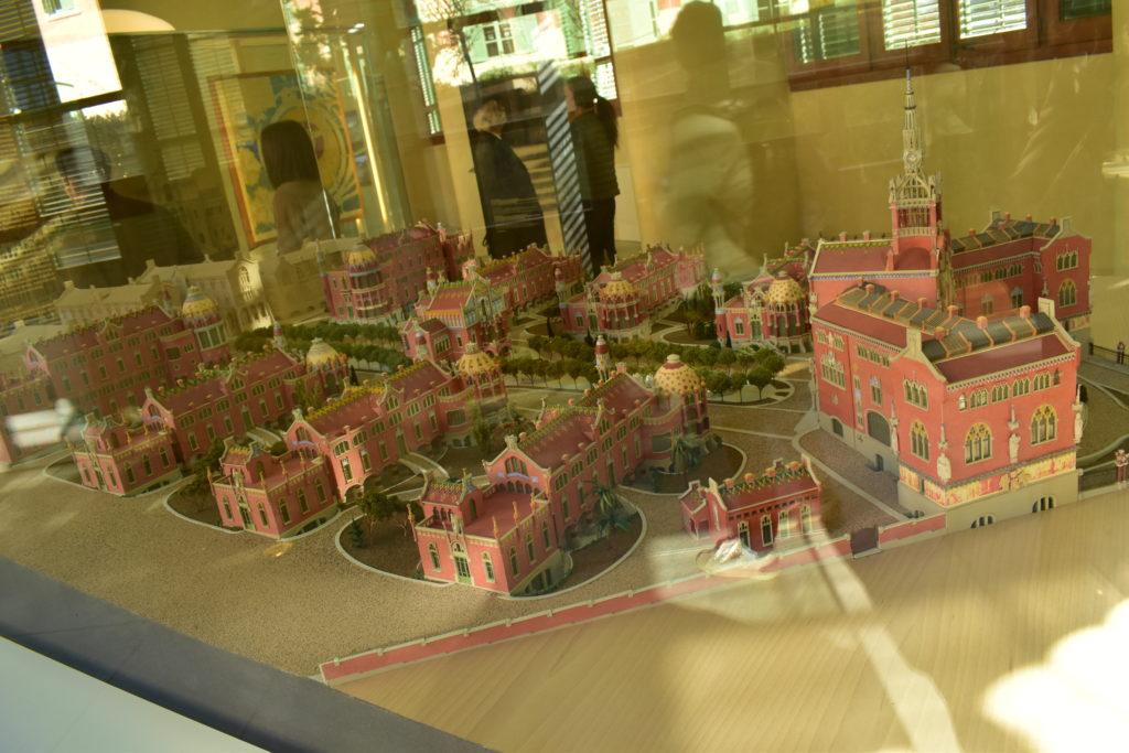 【画像】サン・パウ病院 模型