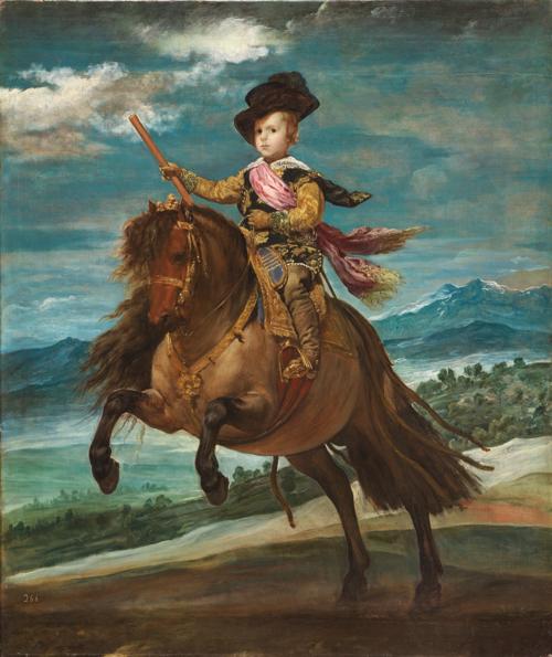 『王太子バルタサール・カルロス騎馬像 Prince Baltasar Carlos on Horseback』