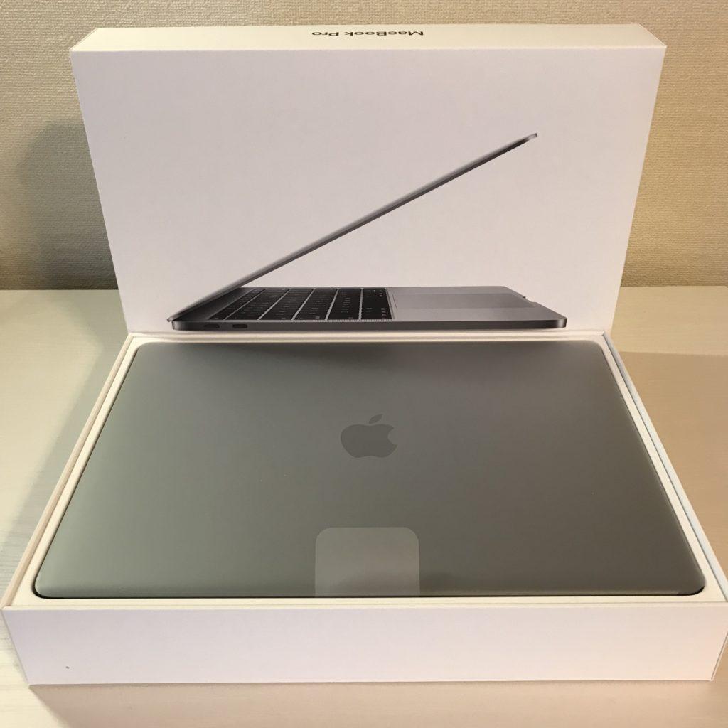 【画像】Macbook Pro 開封したところ