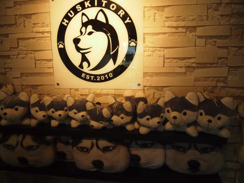 【画像】HUSKITORY 店内にはかわいいぬいぐるみがいっぱい