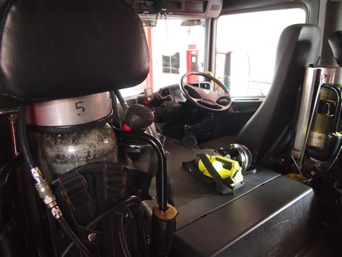 【画像】消防車の内部