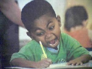 【イメージ画像】必死で勉強する子ども