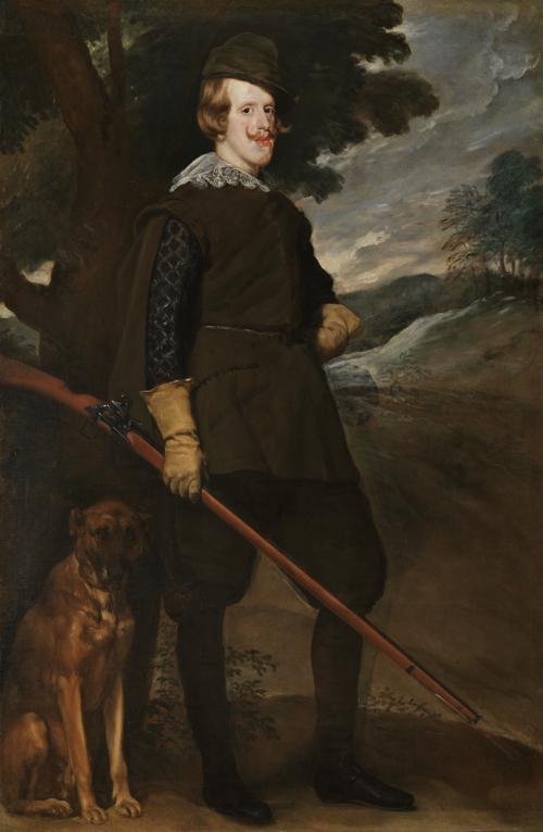 『狩猟服姿のフェリペ4世 Philip IV in Hunting Dress』
