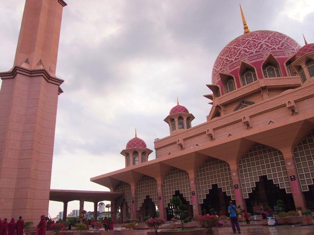 【画像】クアラルンプール ピンク・モスク