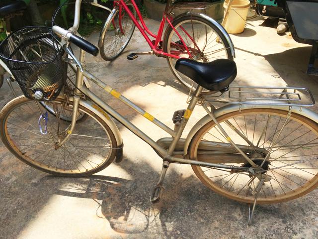 【画像】Golden Butterfly Villa レンタルの自転車