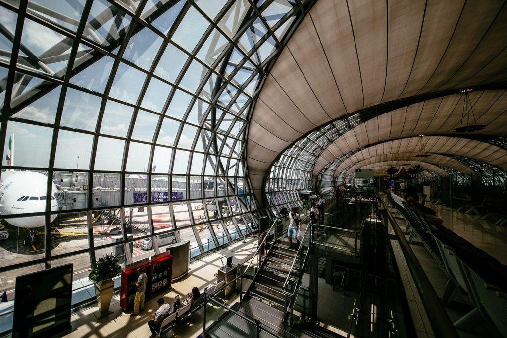 【画像】空港内の様子