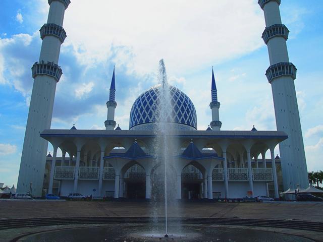 【画像】クアラルンプール ブルー・モスク