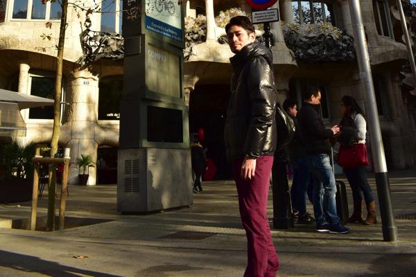 【画像】スペイン バルセロナ12月の服装の例