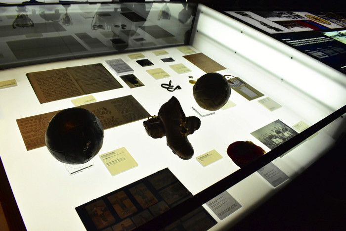 【画像】バルセロナ カンプ・ノウ・スタジアム 展示室②
