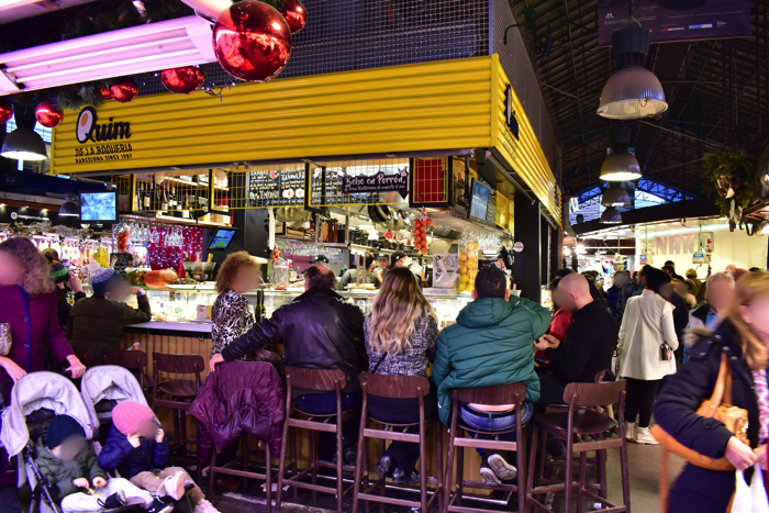 【画像】バルセロナ サン・ジュセップ市場内部 バル
