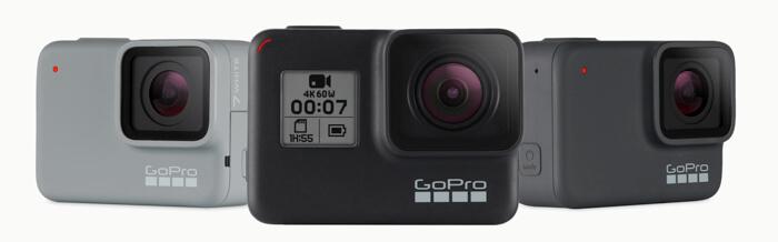 GoPro(ゴープロ)を機種別比較!スペック一覧表