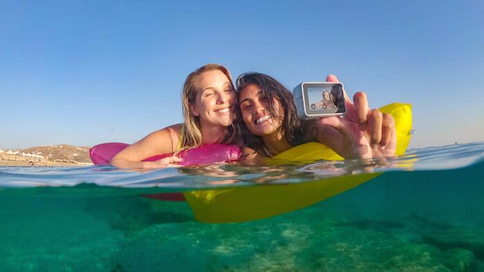アクションカメラといえばGoPro!防水で頑丈!